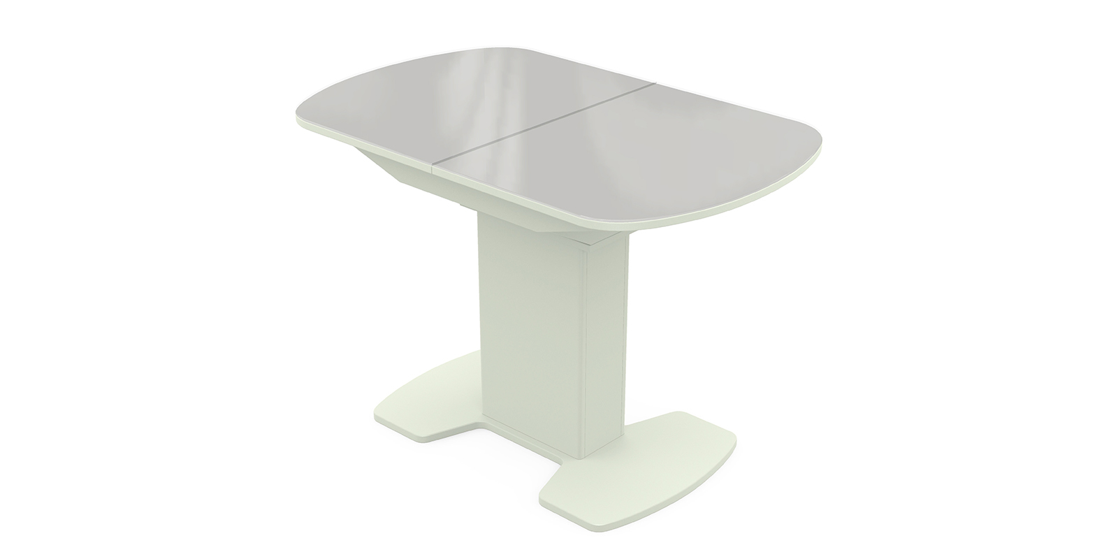 Обеденный стол Корсика (белый)