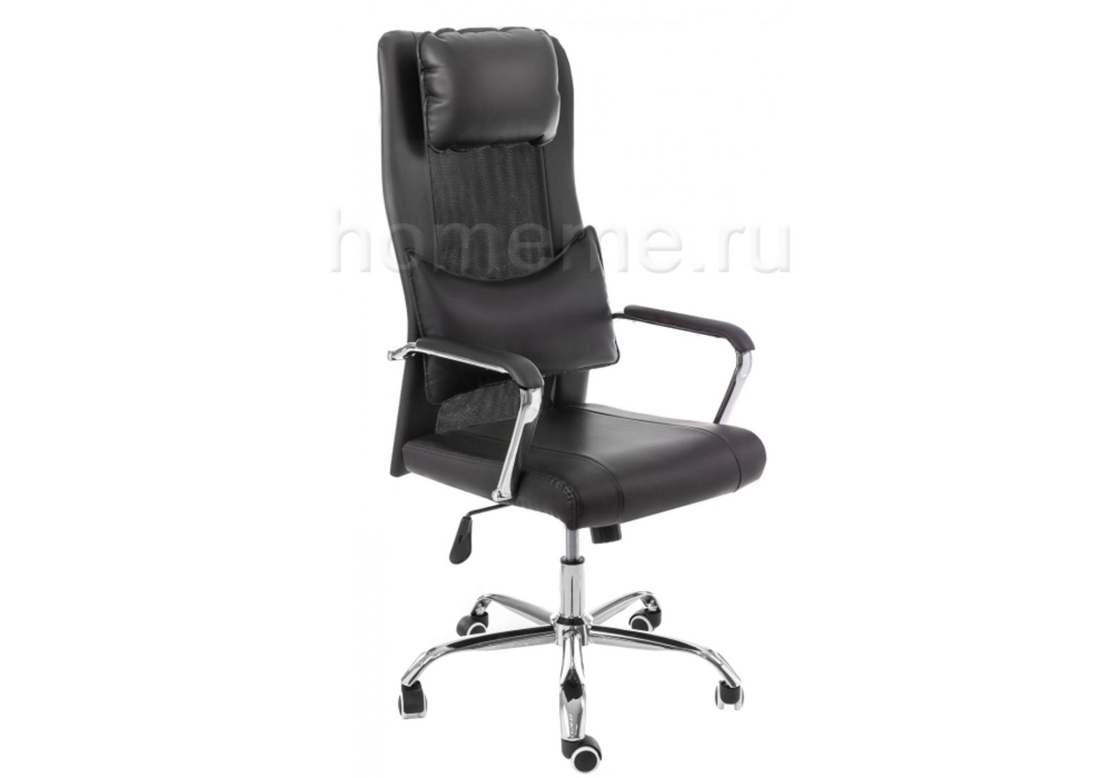 Кресло для офиса HomeMe Компьютерное кресло Unic black 11052 от Homeme.ru
