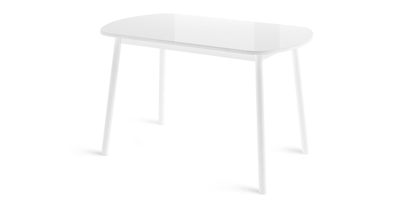 Обеденный стол Раунд (белый)
