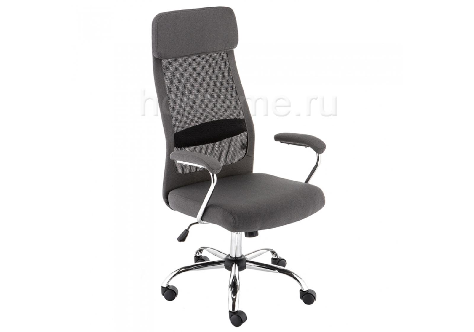 Кресло для офиса HomeMe Sigma темно-серое 11285 от Homeme.ru