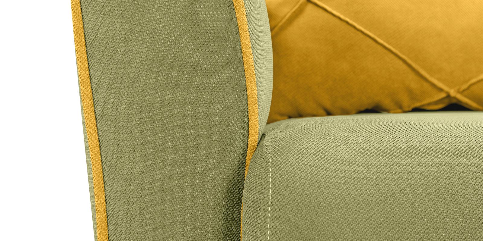 Кресло тканевое Флэтфорд Elegance фисташковый/желтый (Ткань) от HomeMe.ru