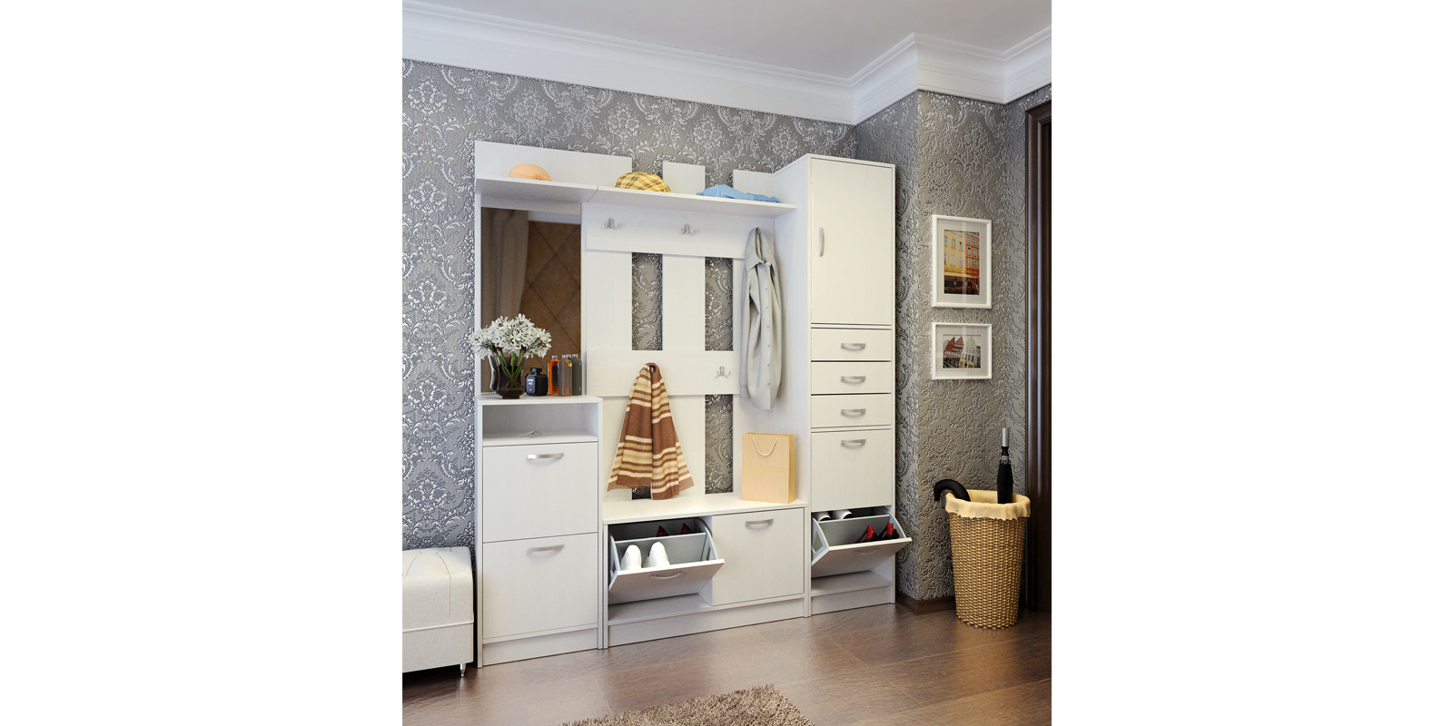 Прихожая HomeMe Хельга от Homeme.ru