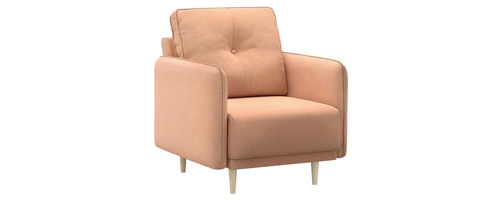 Кресло тканевое Голливуд Bjork розовый (Рогожка)