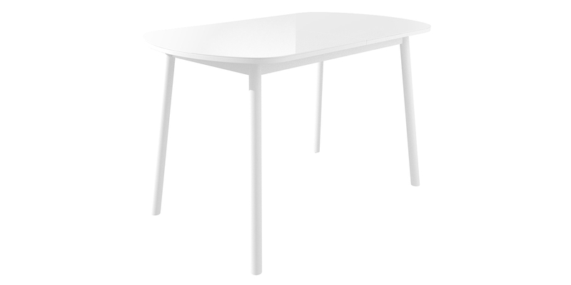 Обеденный стол Раунд Мини (белый)