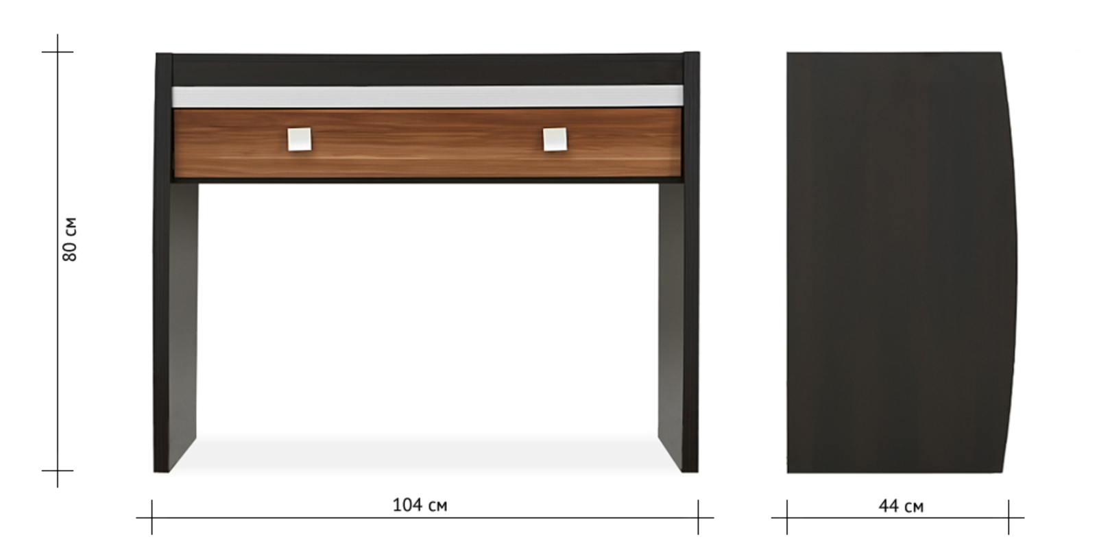 Столик туалетный Корсика (слива валлис) от HomeMe.ru