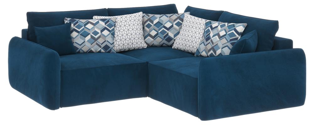 Модульный диван Портленд вариант №6 Premier светло-синий (Микровелюр)