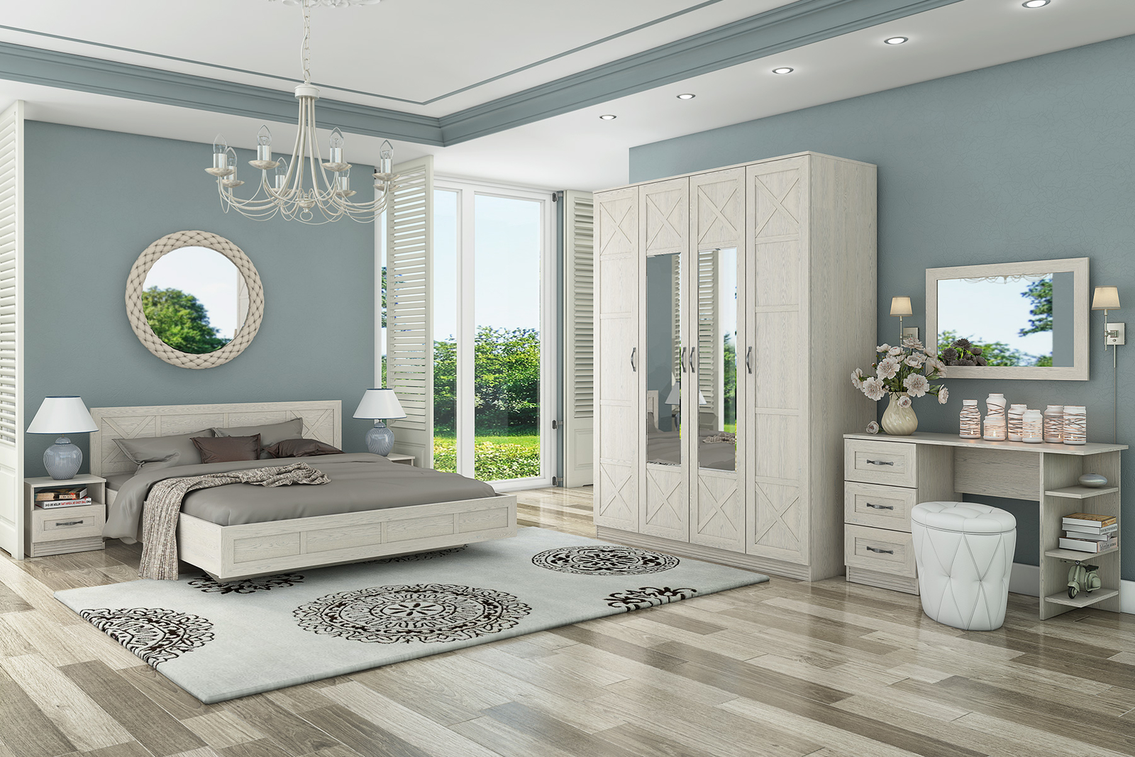 Спальня HomeMe Крит от Homeme.ru