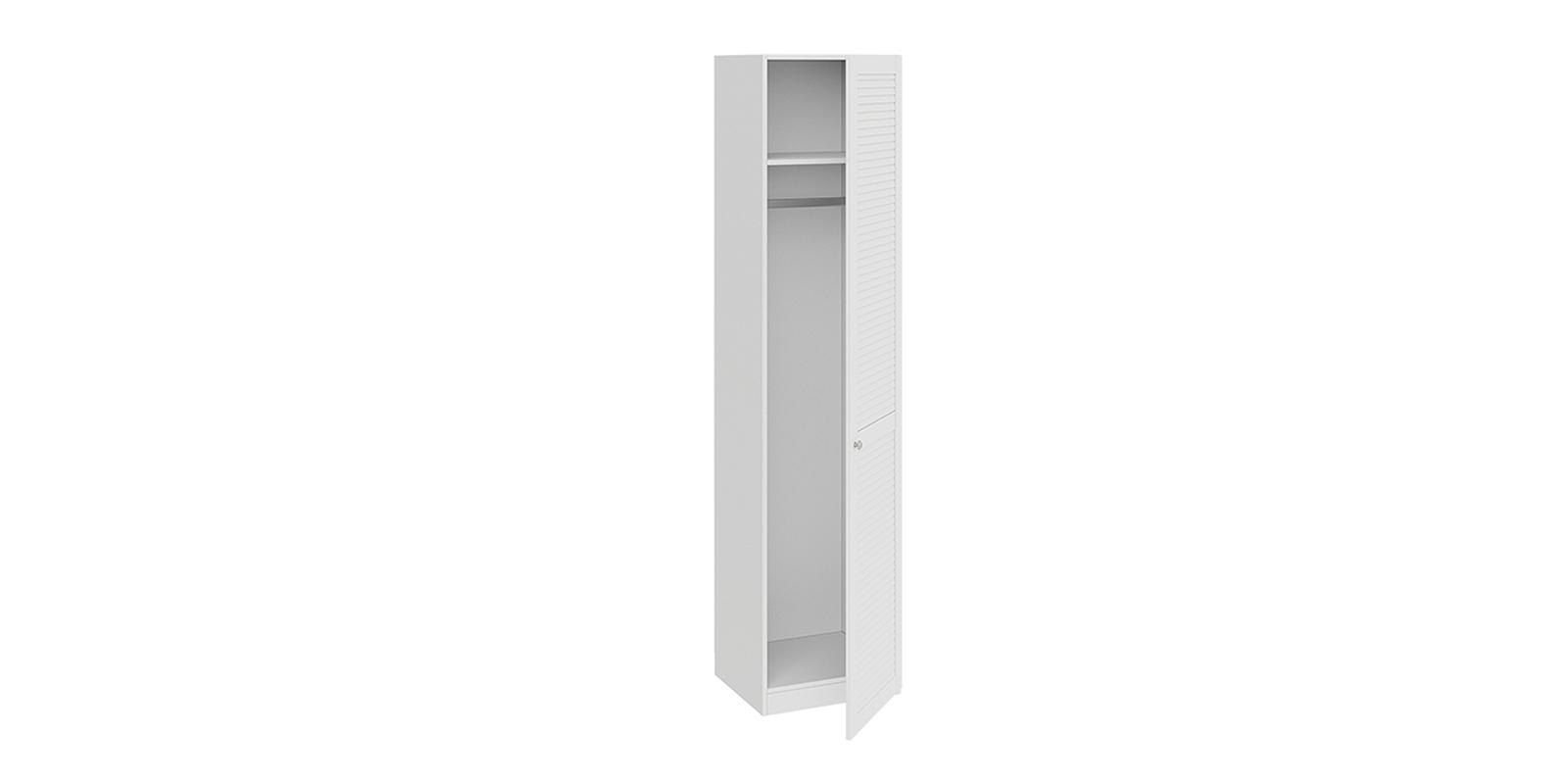 Шкаф распашной однодверный Мерида вариант №2 (дуб бежевый/белый)