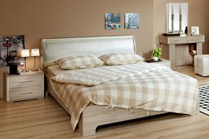 Спальня Сорренто (комплект 2) «Ясень светлый»