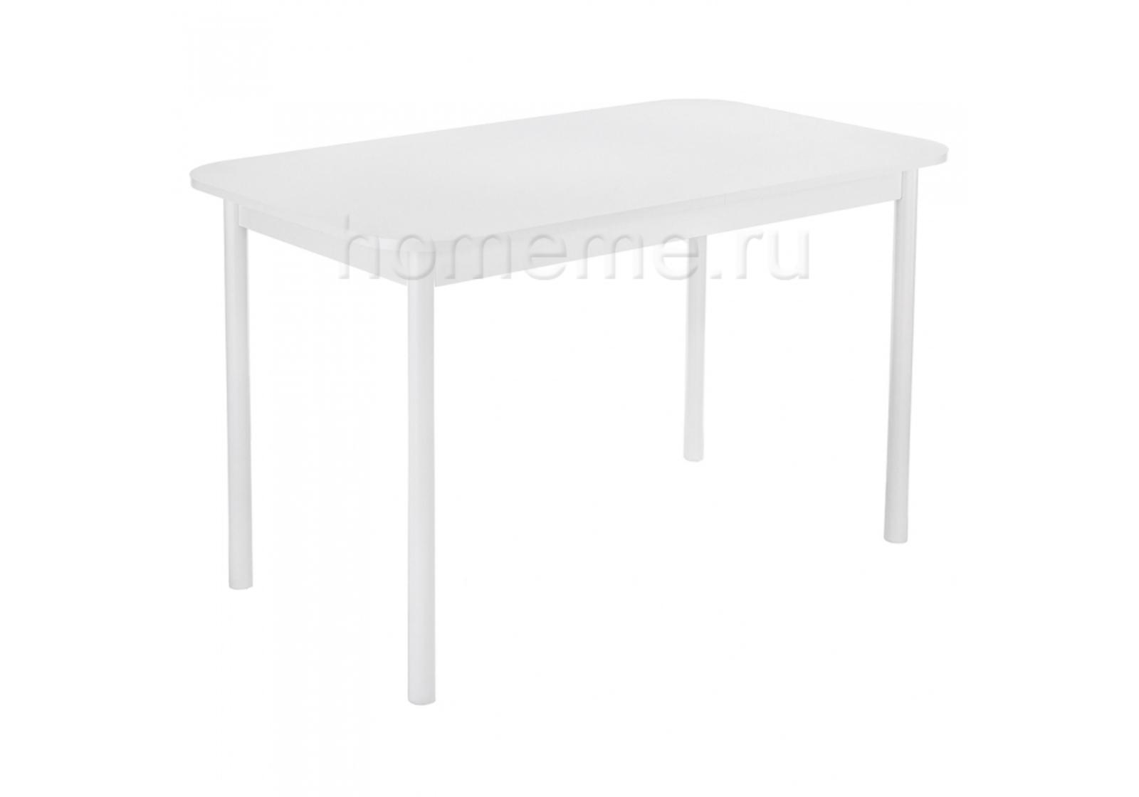 Кухонный стол HomeMe Амори 120 белый 302618 от Homeme.ru