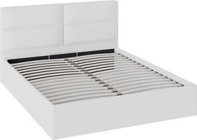 Кровать «Глосс» с мягкой обивкой и подъемным механизмом тип 1