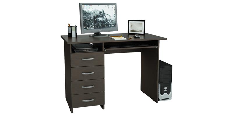 Стол компьютерный Харви (венге)