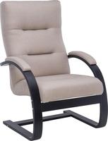 Кресло Leset Монэ Орех текстура, ткань Малмо 05
