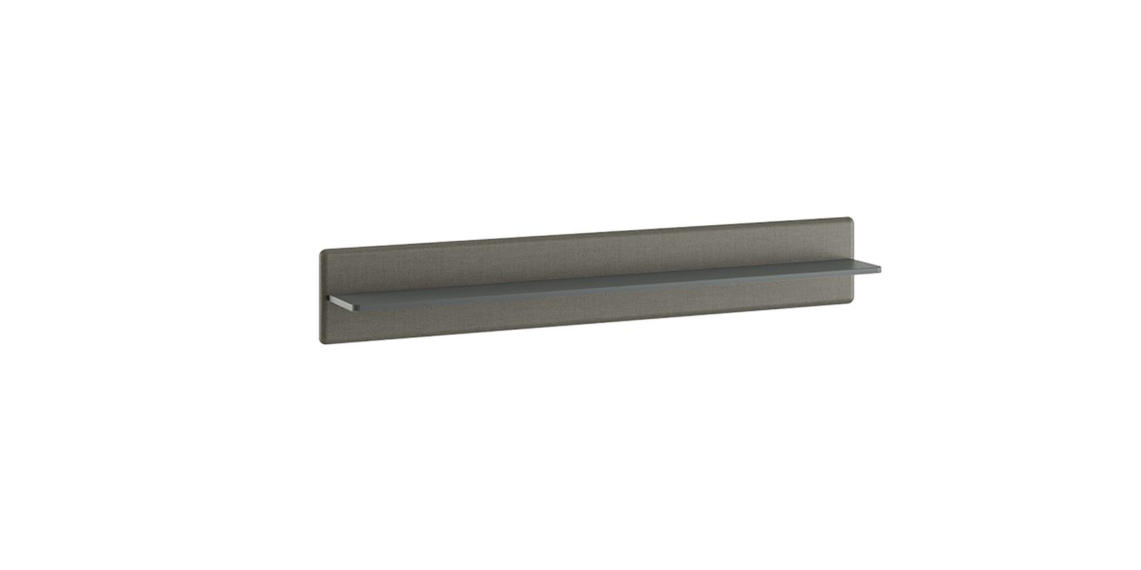 Полка Сорренто 154/24 см (серый) Сорренто