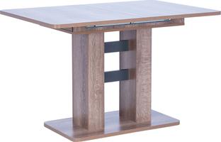 Стол раздвижной 80.530 Leset Гранд  Дуб сакраменто/Антрацит