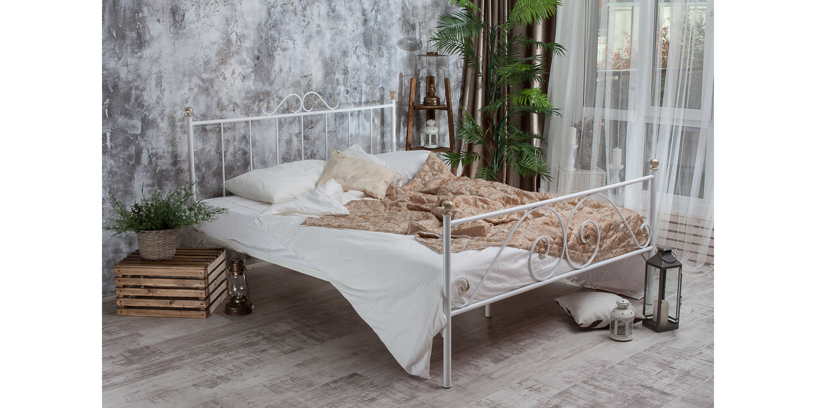 Кровать HomeMe Оливия от Homeme.ru