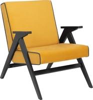 Кресло для отдыха Вест Венге, ткань Fancy 48, кант Fancy 37