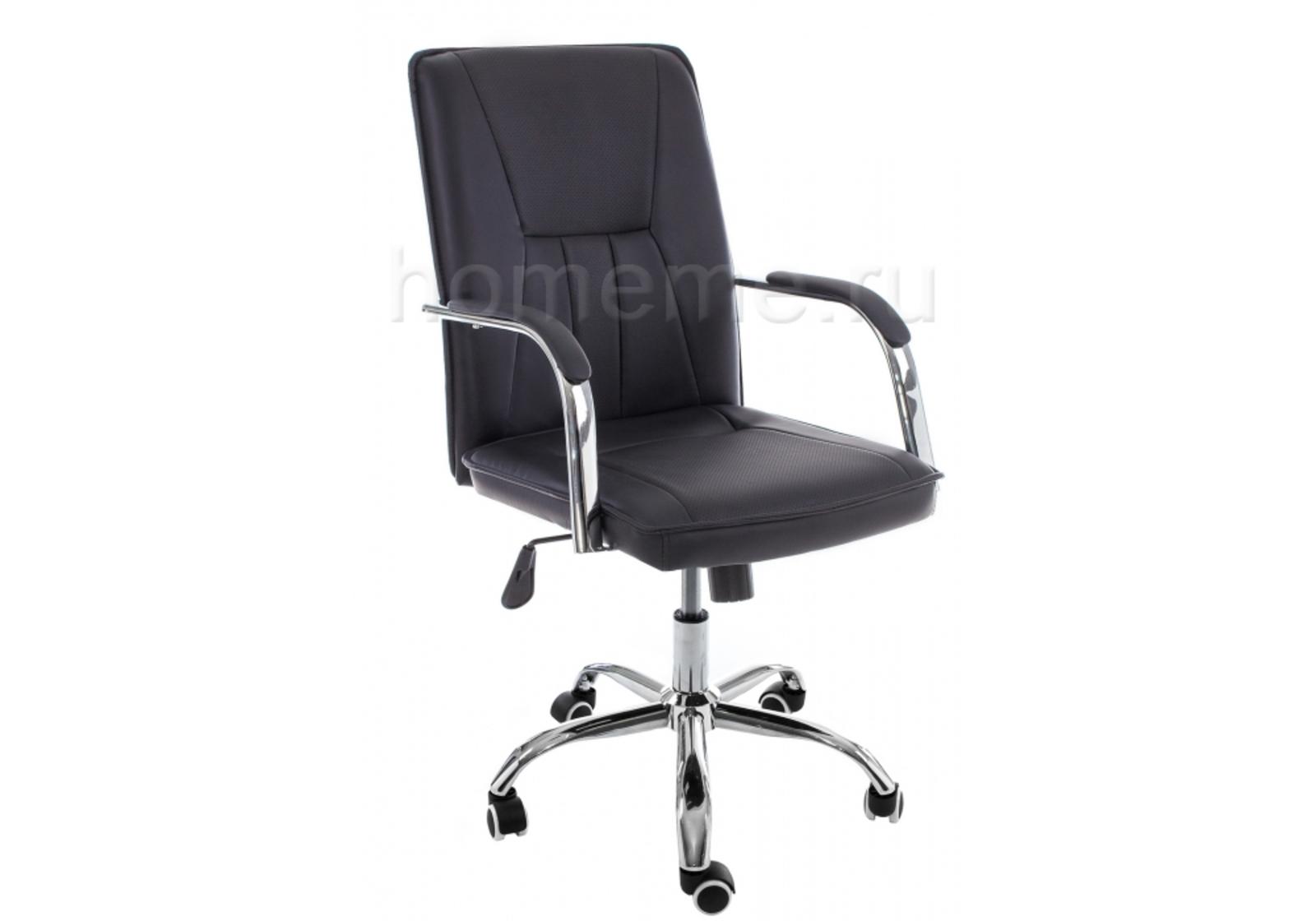 Кресло для офиса HomeMe Компьютерное кресло Nadir черное 11061 от Homeme.ru