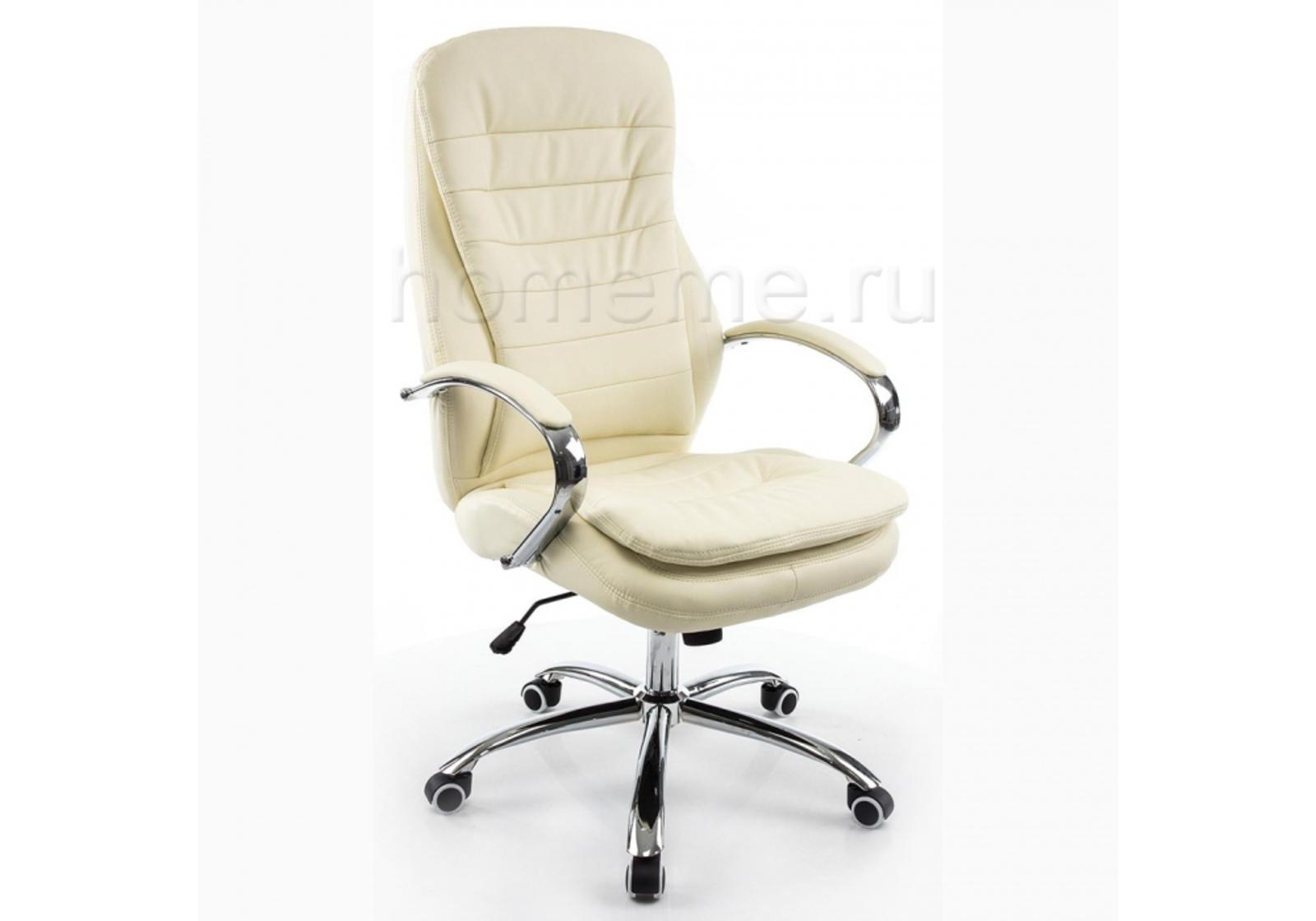 Кресло для офиса HomeMe Tomar кремовое 1742 от Homeme.ru