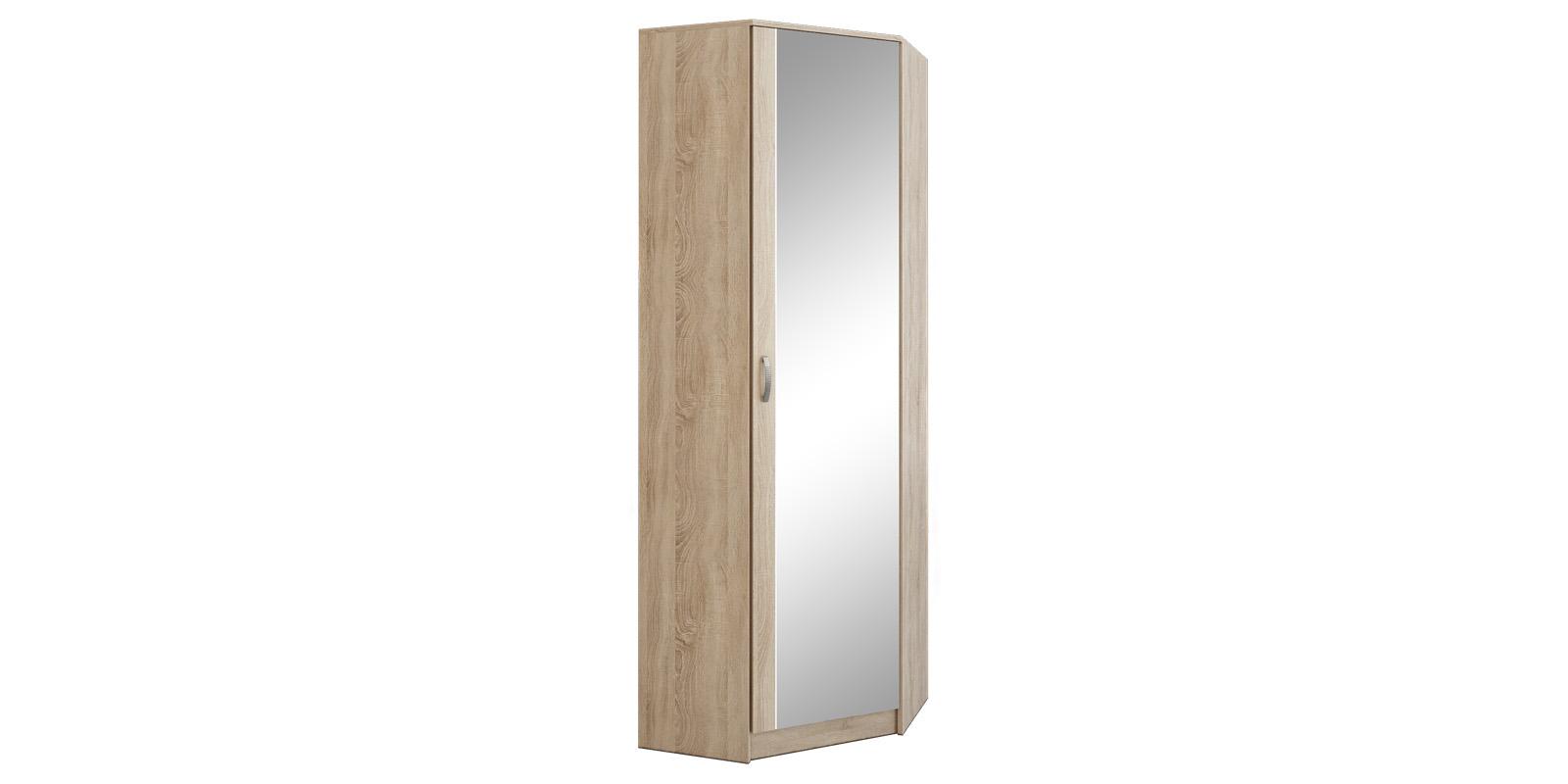Шкаф распашной угловой Хельга вариант №2 (дуб сонома)