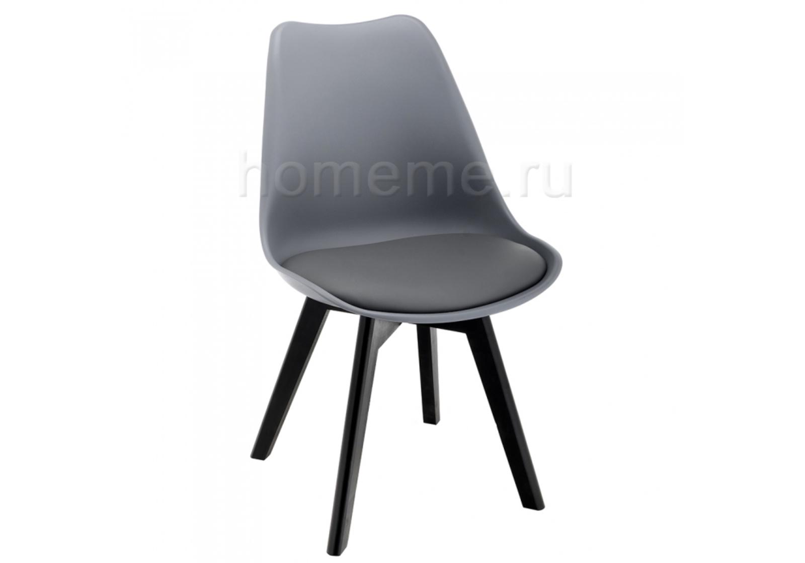Стул деревянный Bonus черный / серый 11334 Bonus черный / серый 11334 (16715)
