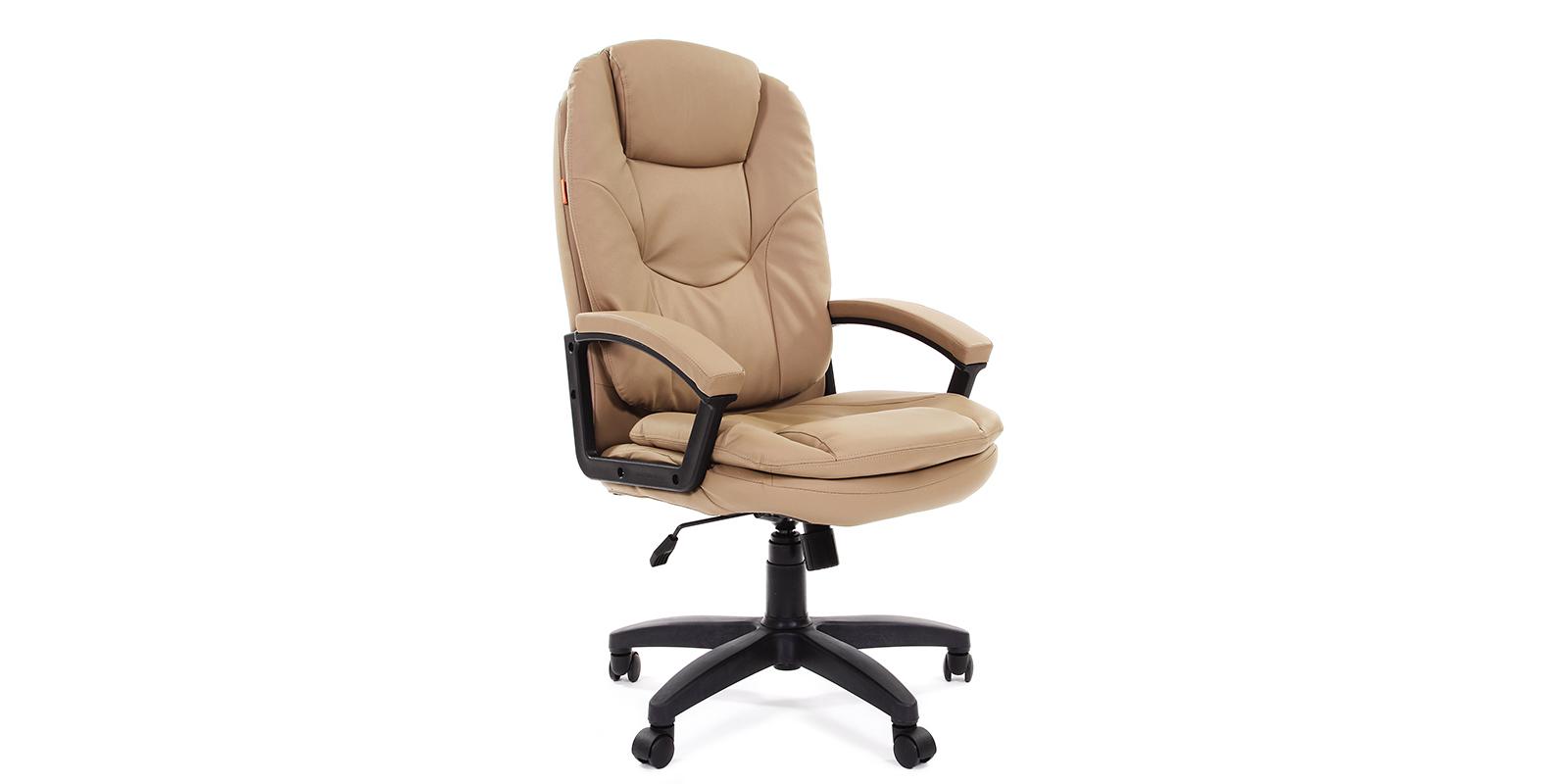 Кресло для руководителя Chairman 668 вариант №2 (бежевый)