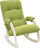 Кресло-качалка Модель 67 Дуб шампань, ткань Verona Apple Green