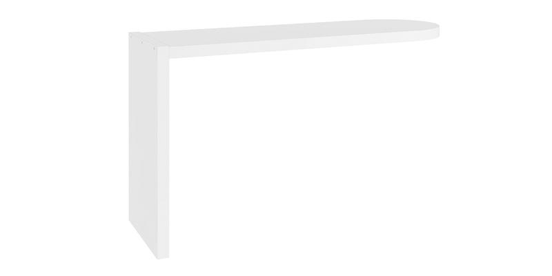 Надстройка для тумбы Альмерия (дуб санремо/белый)
