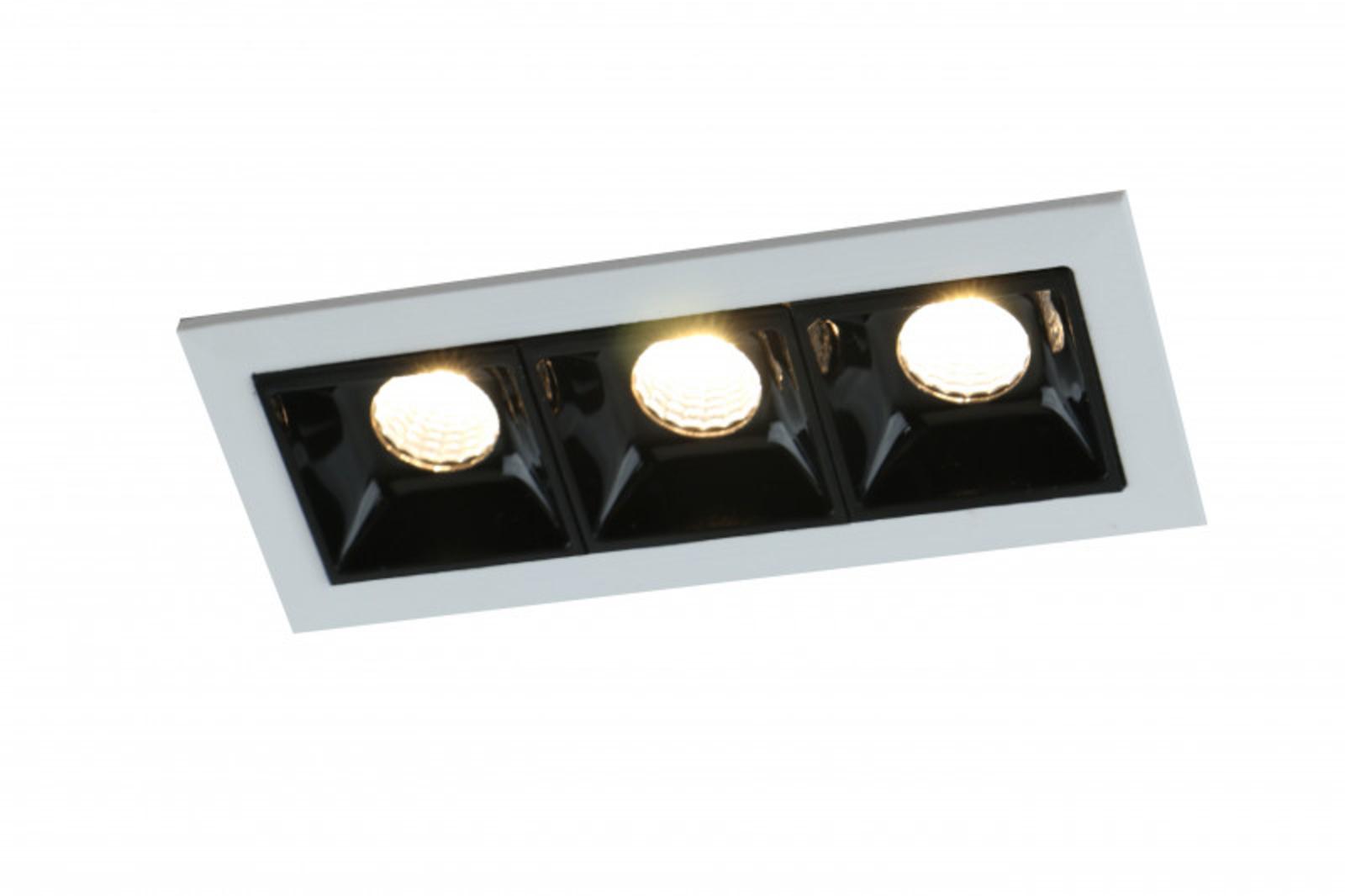 Купить Встраиваемый светильник Grill A3153PL-3BK, HomeMe