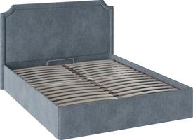 Кровать «Кантри» с мягкой обивкой и подъемным механизмом тип 1