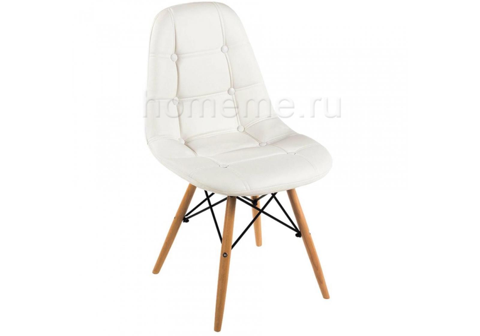 Стул деревянный Eames PC-016 белый (1321)