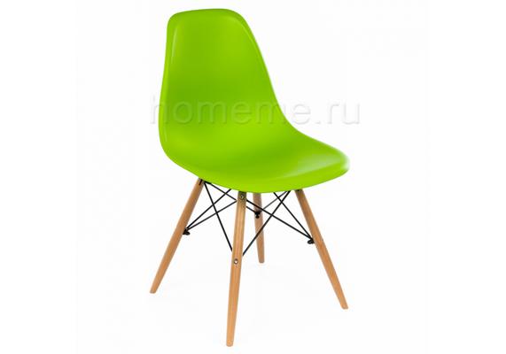 Стул деревянный Eames Pc-015 зеленый (1827)
