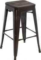 Tolix Bar wood CColl T-2103B-26 bronze / brown walnut 351640