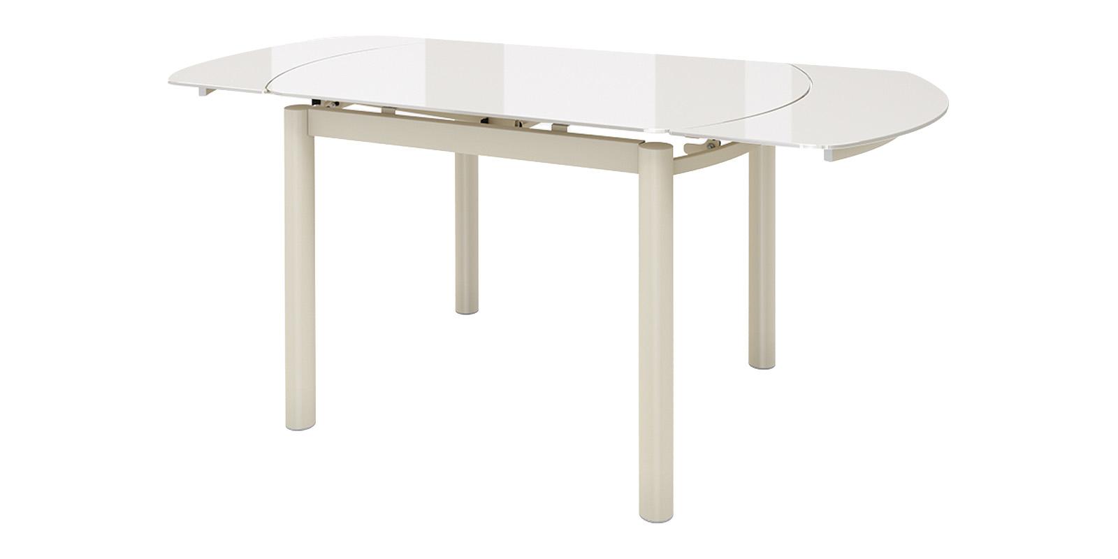 Обеденный стол Римс (кремовый)