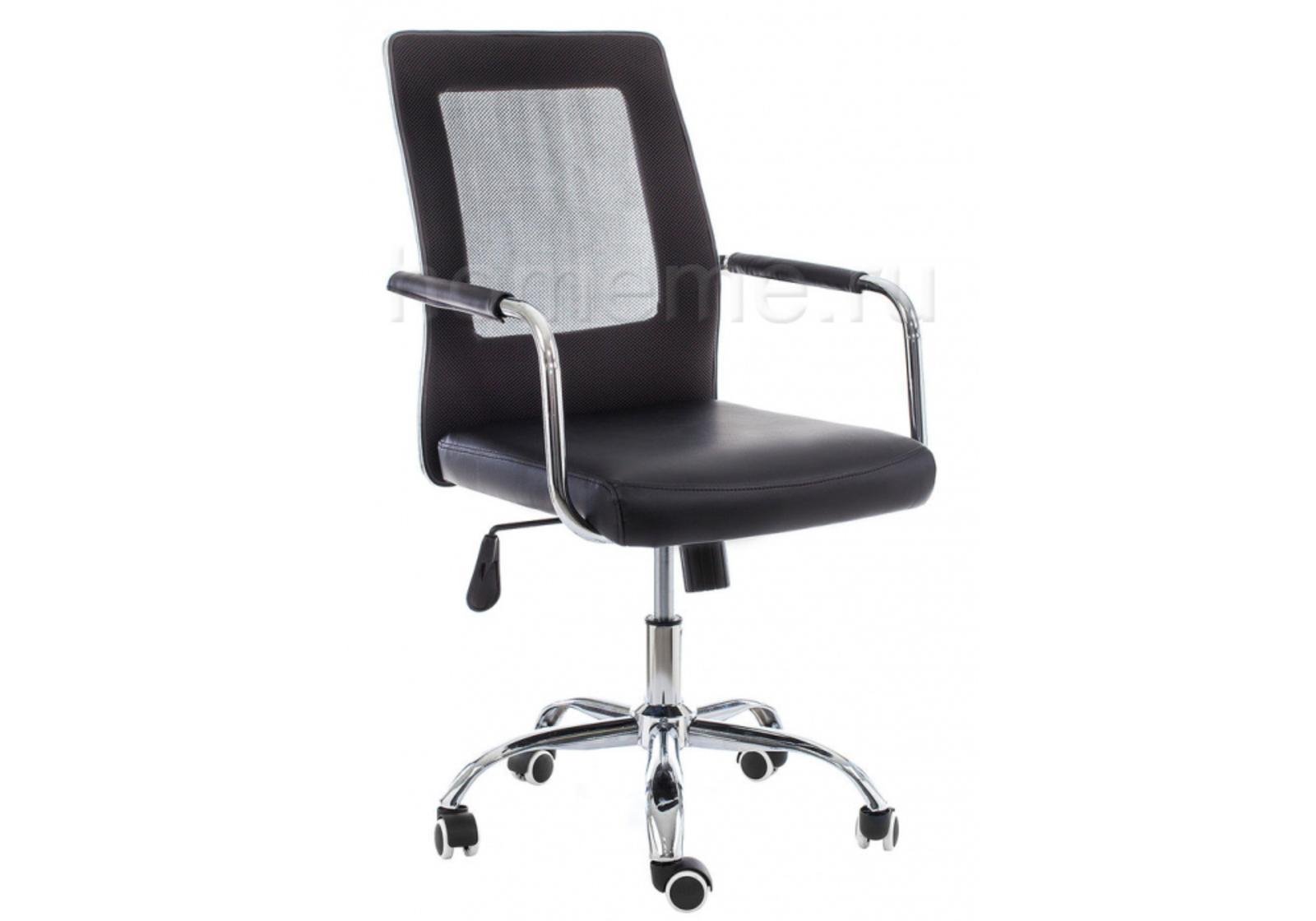 Кресло для офиса HomeMe Компьютерное кресло Optima черное 11069 от Homeme.ru