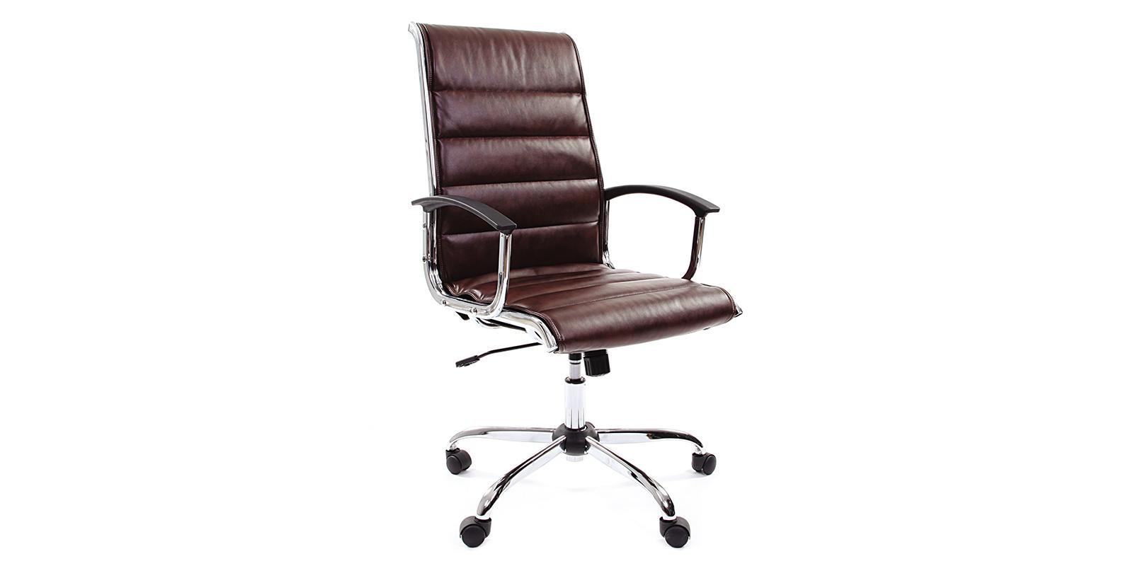 Кресло для руководителя Chairman 760 вариант №1 (коричневый)