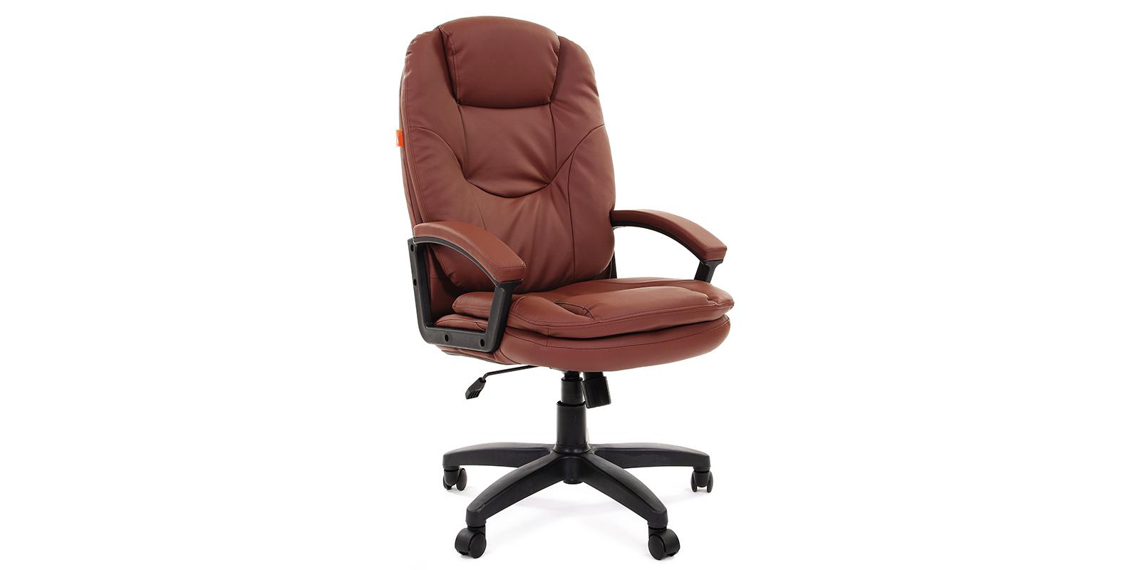 Кресло для руководителя Chairman 668 вариант №2 (коричневый)