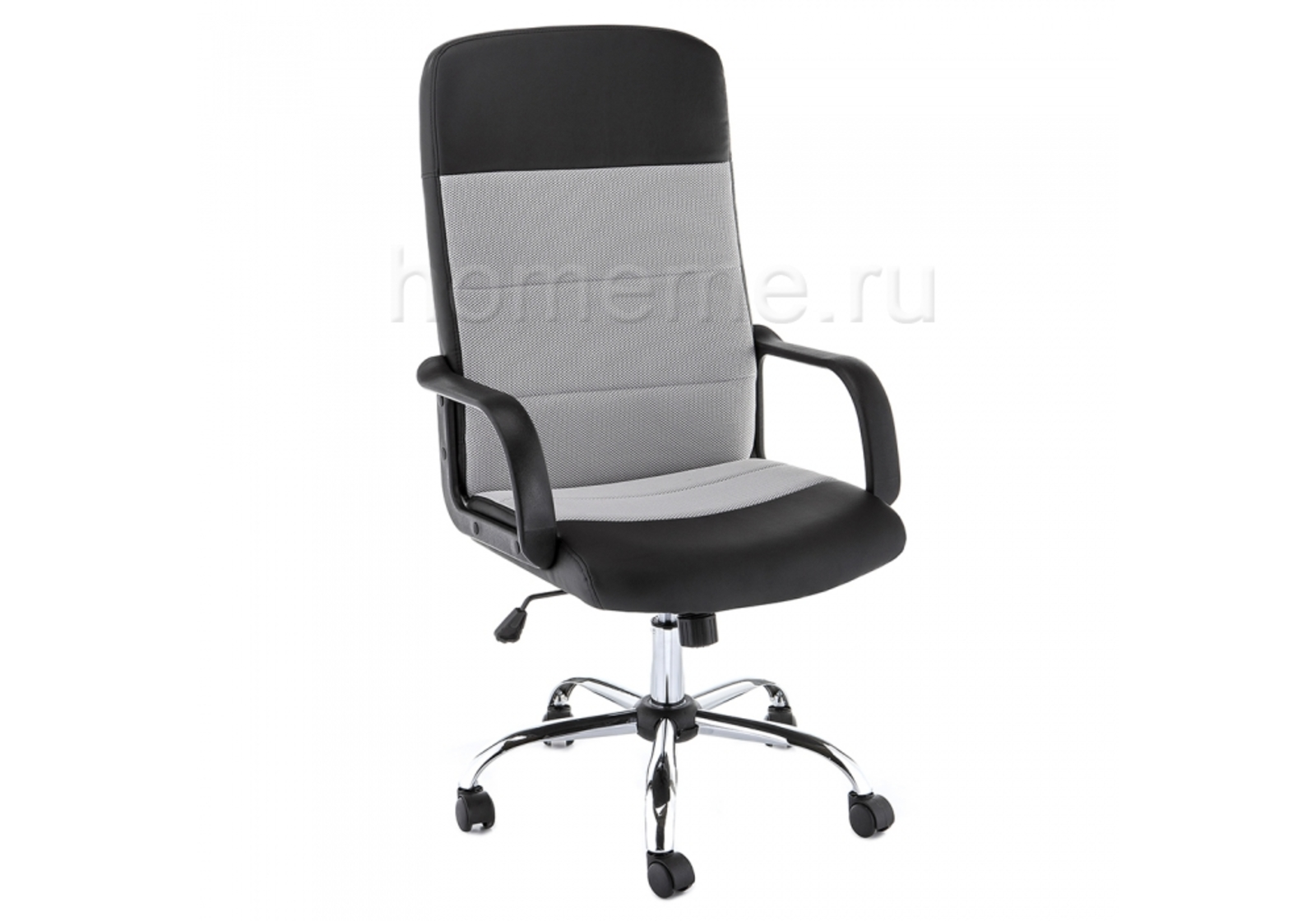 Кресло для офиса HomeMe Prosto черное 11283 от Homeme.ru