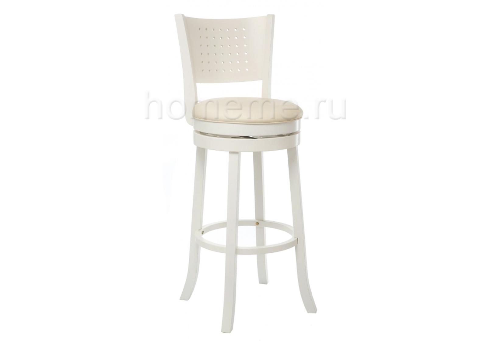 Барный стул Linda белый/кремовый (1853)