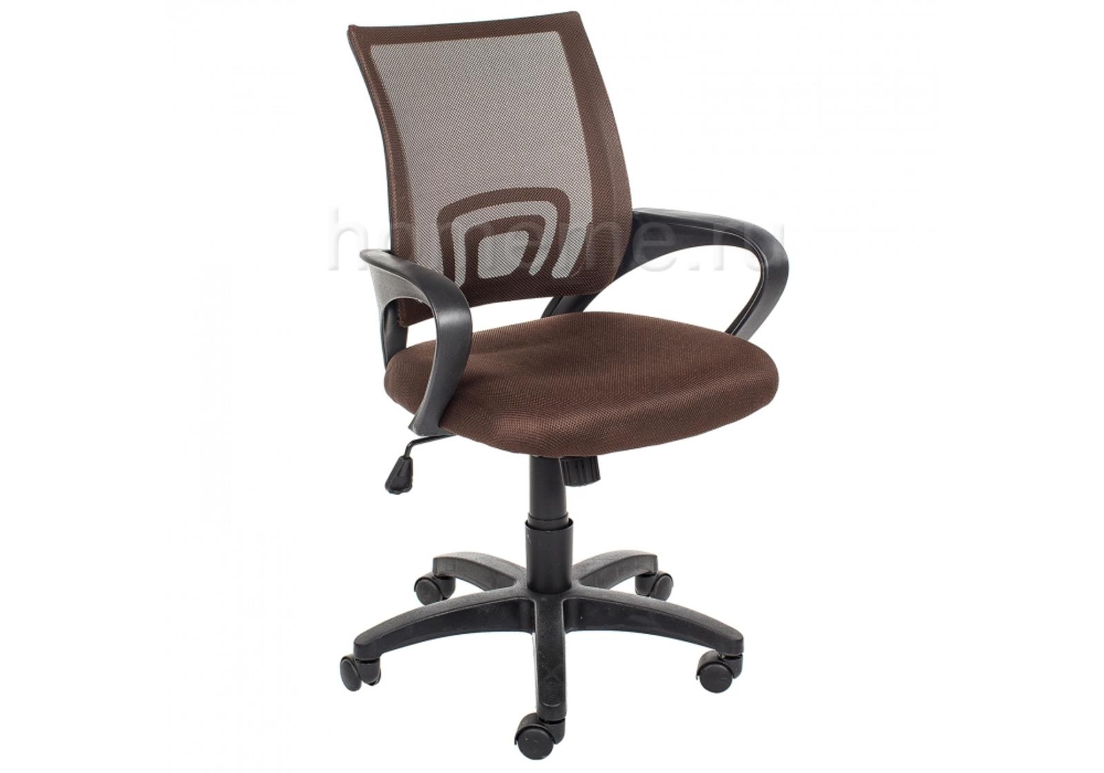 Кресло для офиса HomeMe Turin коричневое 1479 от Homeme.ru