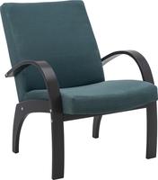 Кресло для отдыха Денди Венге, ткань Fancy 37