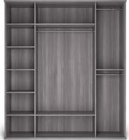 Шкаф 4-х дверный (корпус) Парма Нео