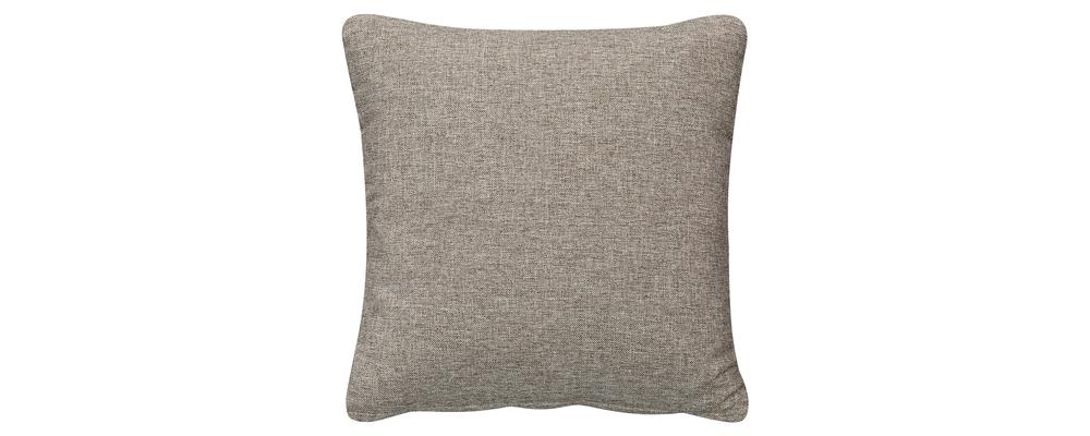 Декоративная подушка Медисон 40х40 см Kiton серый (Рогожка)