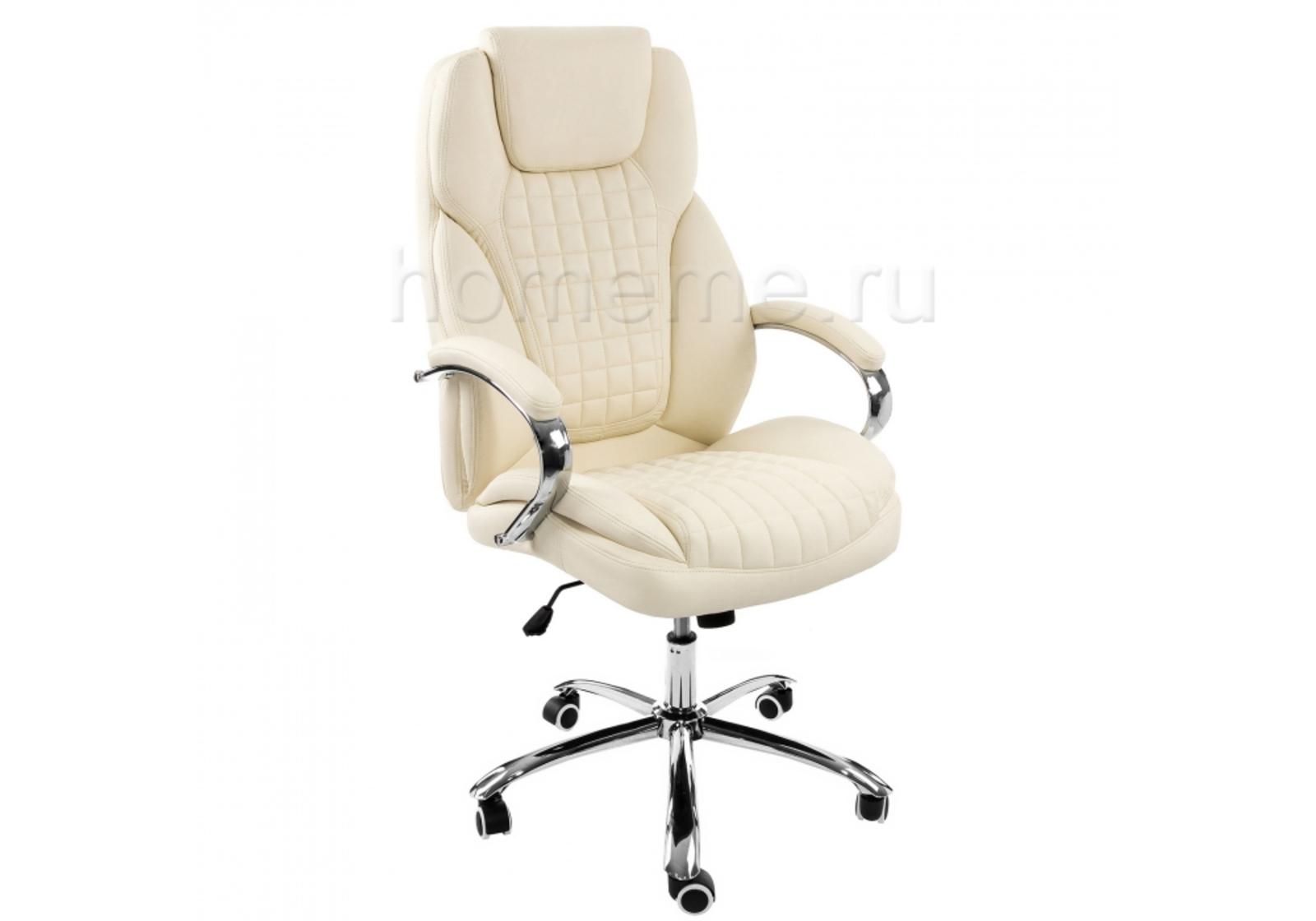 Кресло для офиса HomeMe Herd бежевое 1866 от Homeme.ru