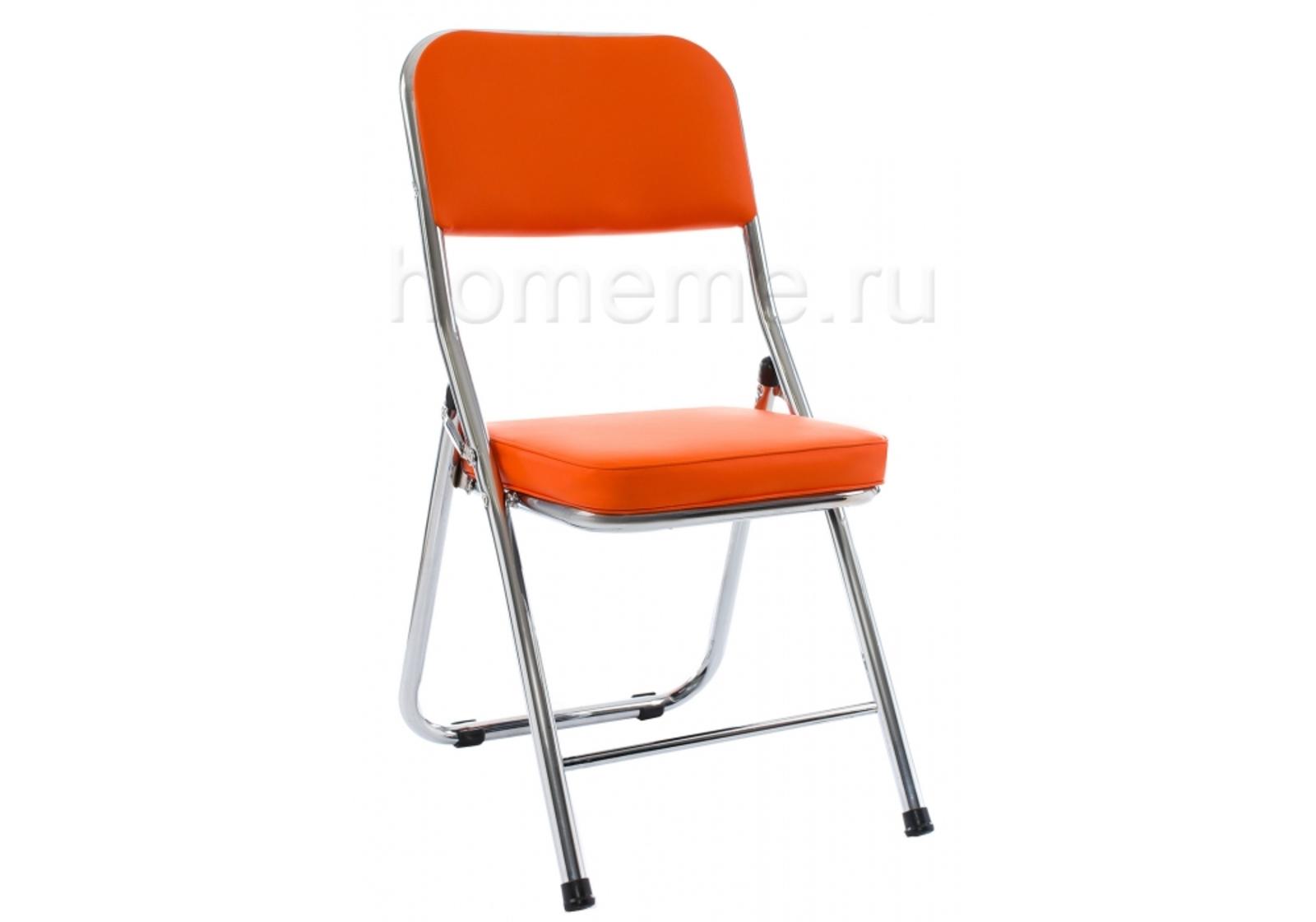 Стул HomeMe Стул Chair раскладной orange 11073 от Homeme.ru