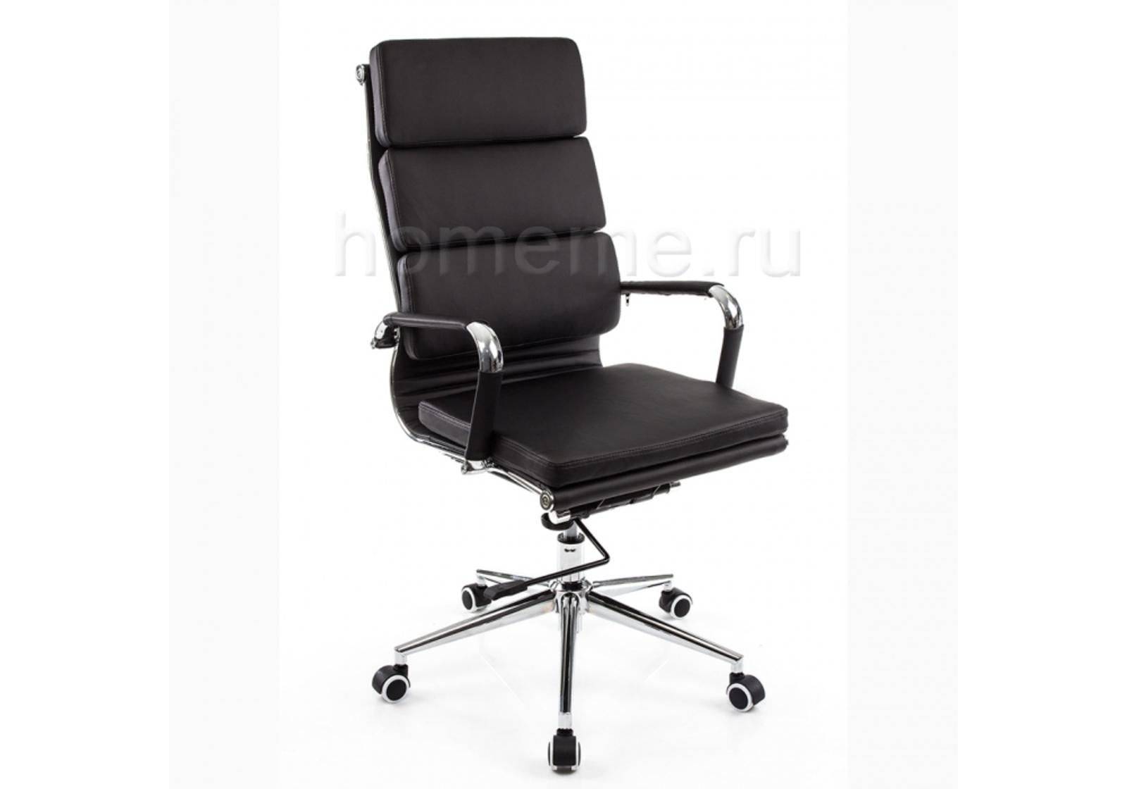 Кресло для офиса HomeMe Samora черное 1716 от Homeme.ru