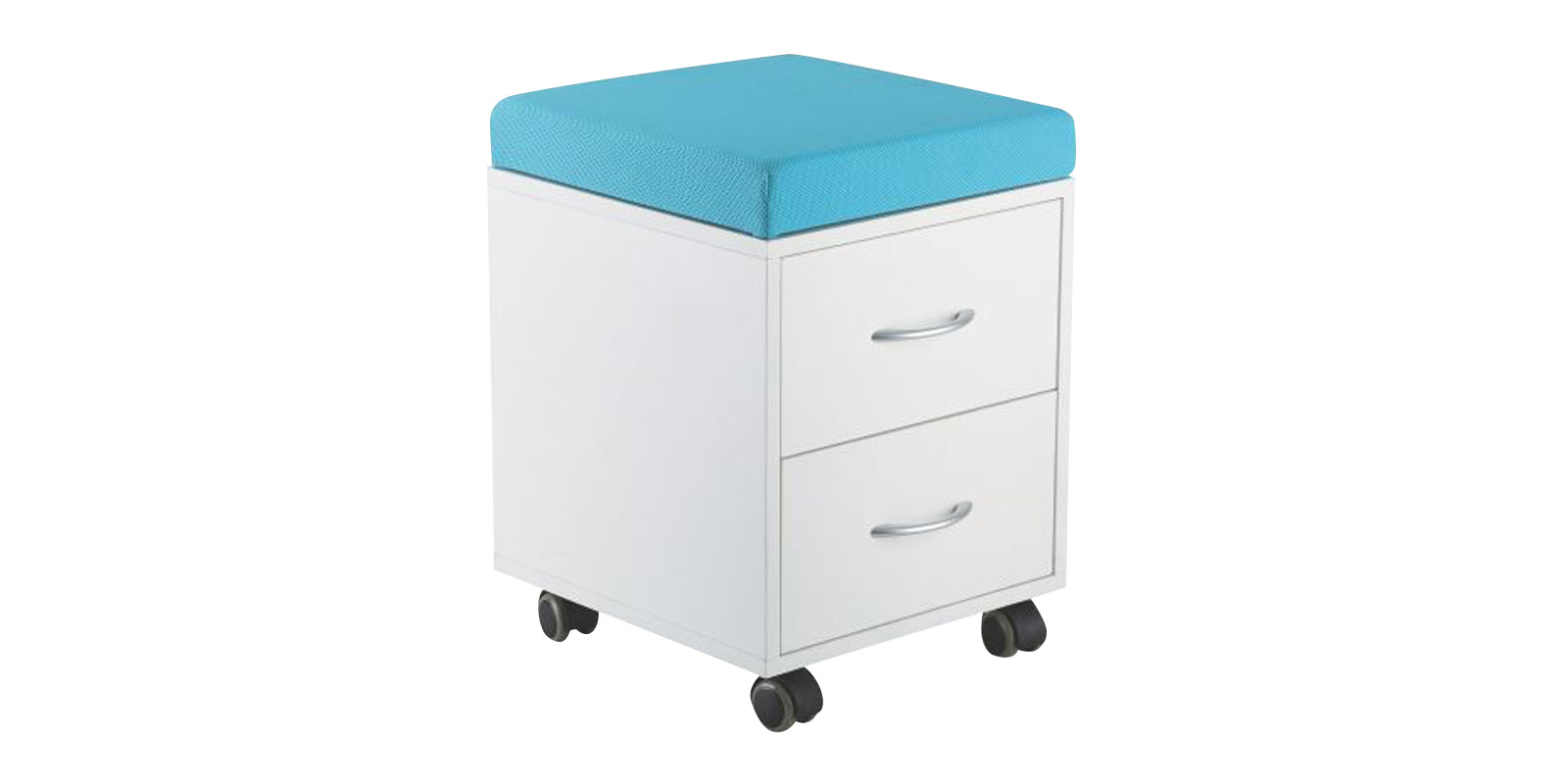 Детская тумба SS15W (белый/голубой) SS15W