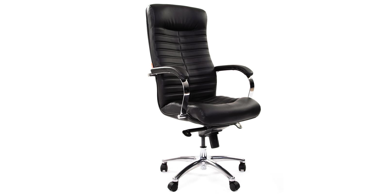 Кресло для руководителя Chairman 480 вариант №1 (черный)