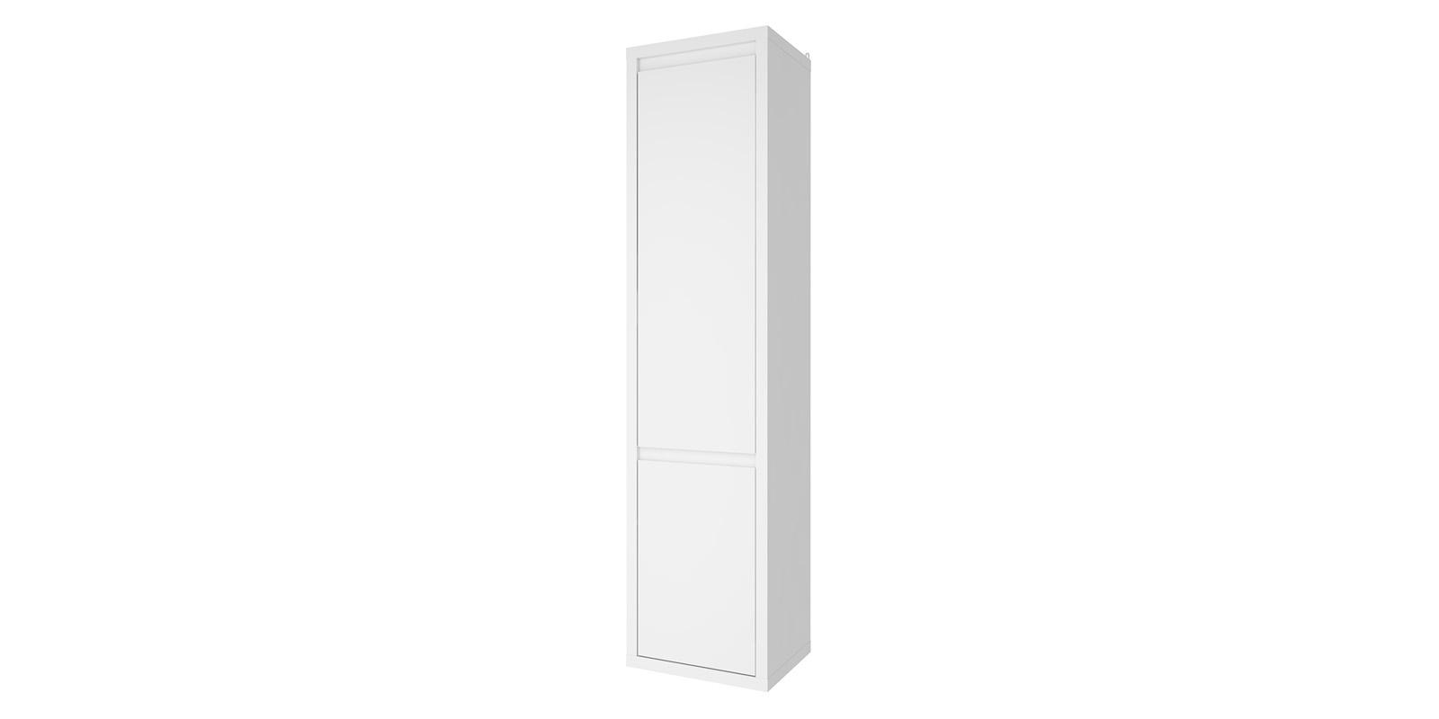 Шкаф распашной однодверный Сальвадор (белый)