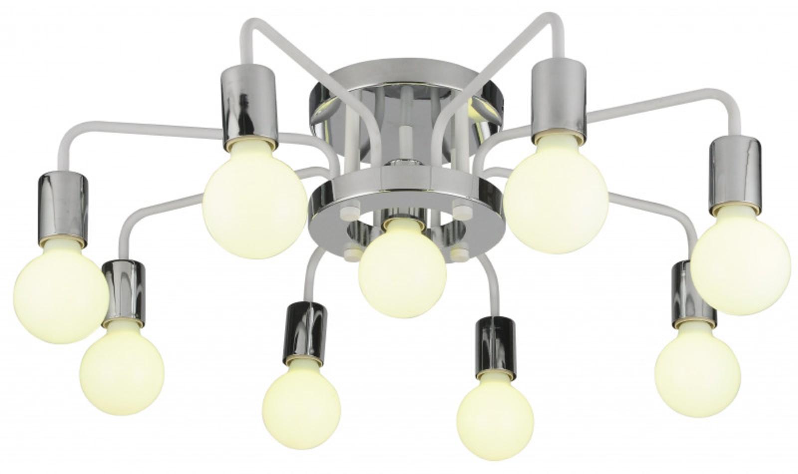 Купить Накладная люстра GELO Накладная люстра ARTE Lamp A6001PL-9WH (13762), HomeMe